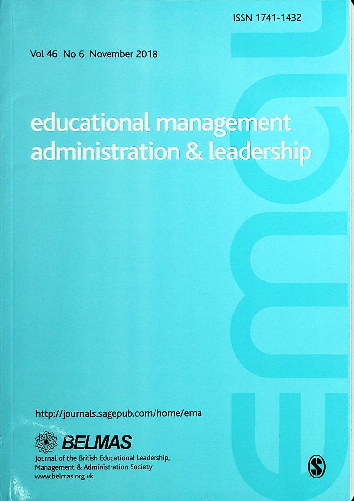 Educational Management Administration & Leadership, November 2018