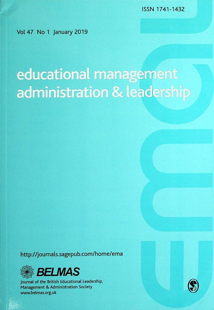 Educational Management Administration & Leadership, Januari 2019