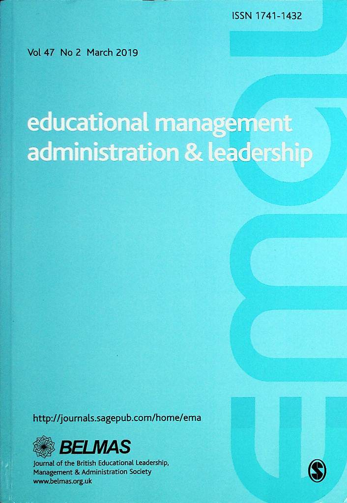 Educational Management Administration & Leadership Vol.47 No.2 2019
