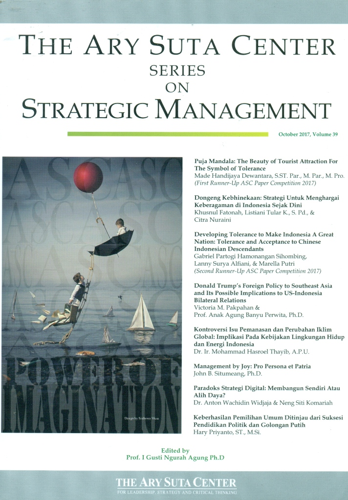 The Ary Suta Center Series on Strategic Management, Volume 39