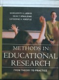 Methods in educational research from theory to practice