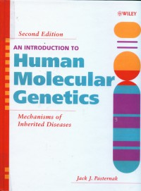 Image of An Introduction human molecular genetics : mechanisms of inherited disease