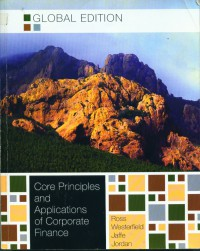 Image of Core principles and applications of corporate finance: global edition