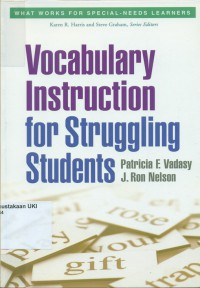 Image of Vocabulary Instruction for Struggling Students