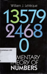 Image of Elementary Theory of Numbers