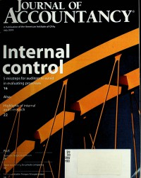 Image of Journal of Accountancy, July 2019