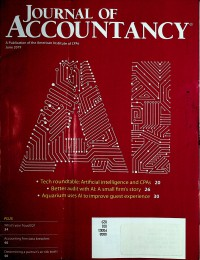 Image of Journal of Accountancy, June 2019