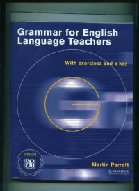Image of Grammar for english language teachers:with exercises and a key